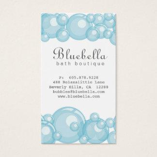 Bath Bubbles Spa Hair Salon Dog or Auto Wash Business Card