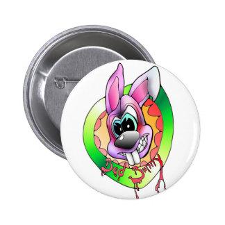 bath bunny bösr hare more anstecker more sticker 2 inch round button
