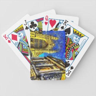 Bath City Van Gogh Bicycle Playing Cards
