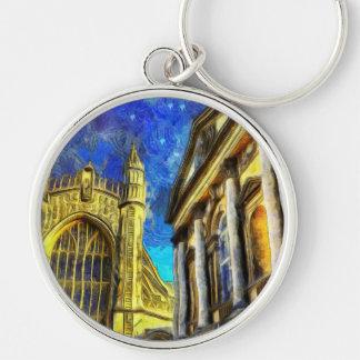 Bath City Van Gogh Keychain