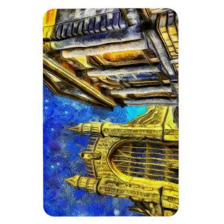 Bath City Van Gogh Magnet