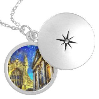 Bath City Van Gogh Silver Plated Necklace