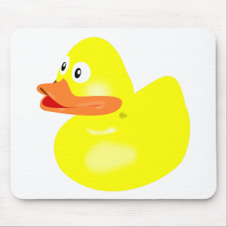 Bath Duck Mouse Pad