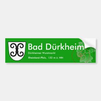 Bath Duerkheim 4 Bumper Sticker