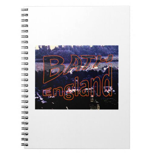 Bath England 1986 0001a1 jGibney The MUSEUM Spiral Note Books