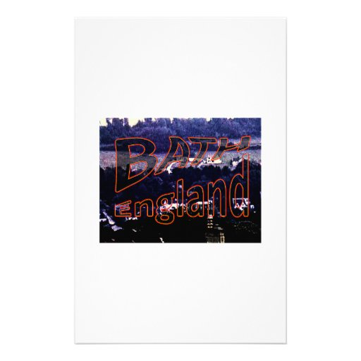Bath England 1986 0001a1 jGibney The MUSEUM Stationery Paper