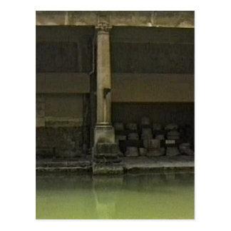 Bath England 1986 Roman Bath1 snap-18582 jGibney T Postcard