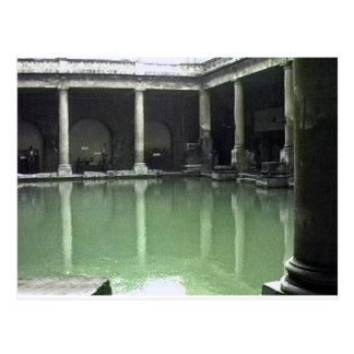 Bath England 1986 Roman Bath1 snap-23487 jGibney T Postcard