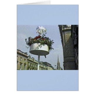 Bath England 1986 Roman Bath1a snap-24056 jGibney Greeting Card