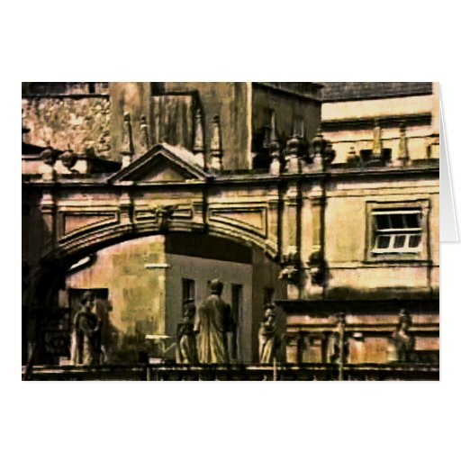 Bath England 1986 snap-12018 jGibney The MUSEUM Za Greeting Card