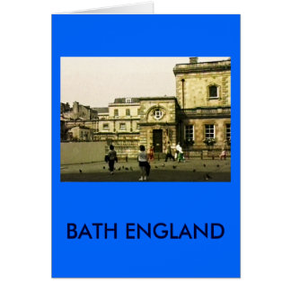 Bath England 1986 snap-12152 jGibney The MUSEUM Za Greeting Card