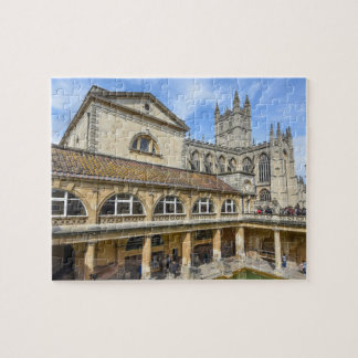 Bath England - Roman Baths Puzzles