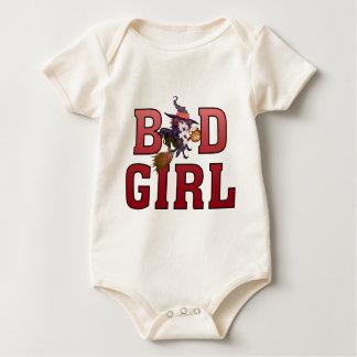 bath girl halloween witch baby bodysuit