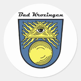 Bath Krozingen Classic Round Sticker