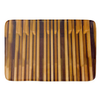 Bath mat for organists