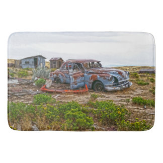 Bath Mat Vintage Car