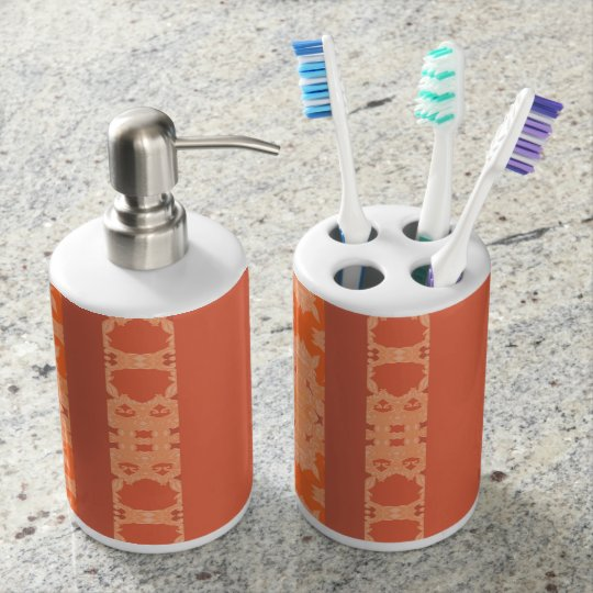 bath soap dispenser and toothbrush holder