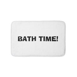 """""""Bath Time"""" Bath Mat"""