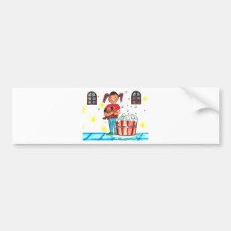 Bath Time Bumper Sticker