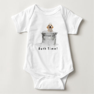 Bath Time Jumper Baby Bodysuit