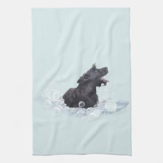 Bath Time Kitchen Towel