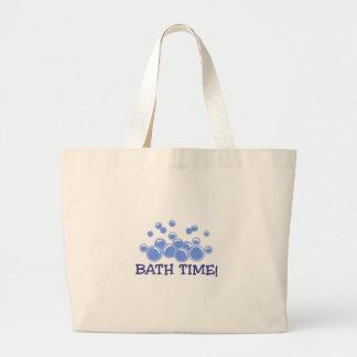 Bath Time Large Tote Bag