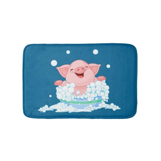 Bath Time Pig Bath Mat