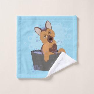 Bath Time Puppy Bath Towel Set