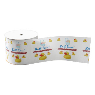 bath time ribbon grosgrain ribbon