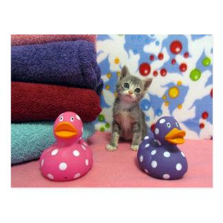 Bath Time with Aidan - Postcard