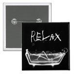 Bath Tub X-Ray Skeleton Black & White