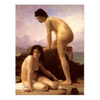 Bathers - Bouguereau Postcard
