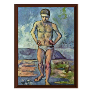 Bathers By Paul Cézanne (Best Quality) Postcard