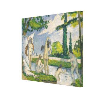 Bathers Canvas Print