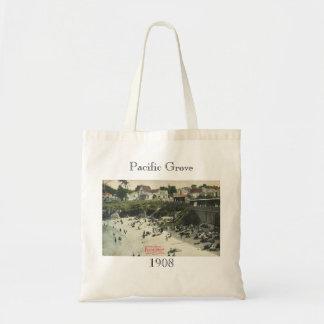 Bathing Beach Pacific Grove 1908 Bag