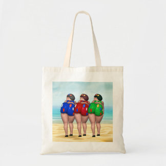 Bathing Beauty Tote Bags