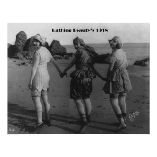Bathing Beauty's 1918 Poster