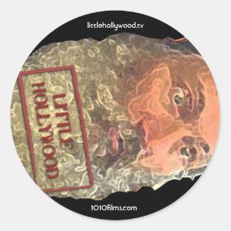 Bathroom Philosopher Stamp Sticker