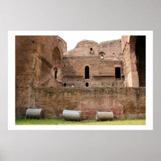 Baths of Caracalla Poster