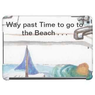 Bathtub Boats Past Time to go to Beach Ocean Sea Case For iPad Air