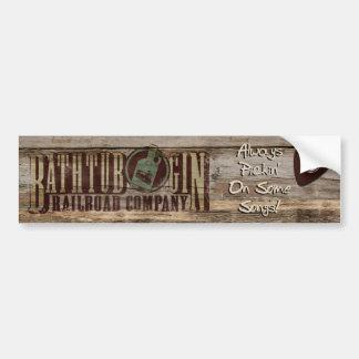 Bathtub Gin Railroad Company Always pickin sticker