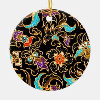 batik ameng 03 ceramic ornament