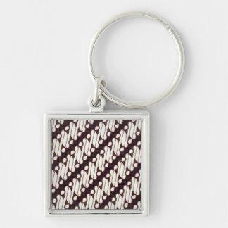 batik arjuna 012 keychain