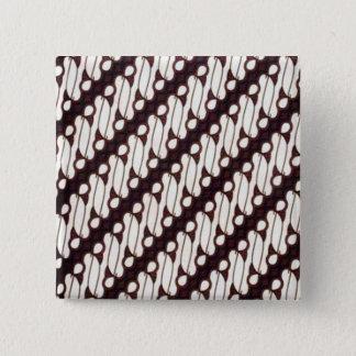 batik arjuna 07 2 inch square button
