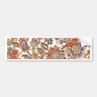 batik art no 1 bumper sticker