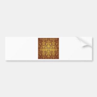 Batik Bali style design Bumper Sticker