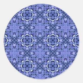 Batik Blue Sticker