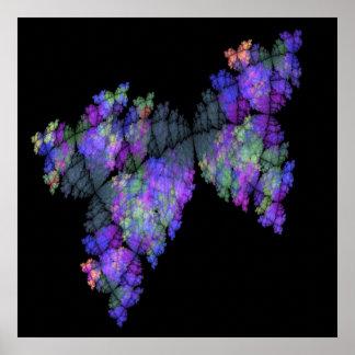 Batik Butterflies Print