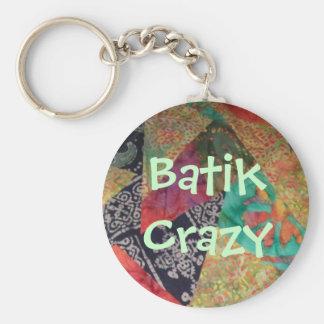 Batik Crazy Keychain