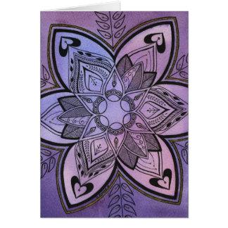 Batik Design Card